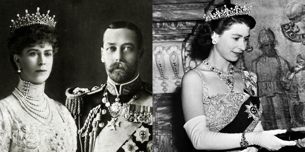 Αρχικά ήταν γαμήλιο δώρο για τη Βασίλισσα Μαρία (τότε πριγκίπισσα) το 1893 1524ee10491